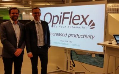 Ministry of Enterprise and Innovation on a visit to OpiFlex